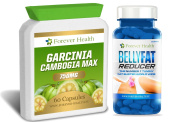 GARCINIA CAMBOGIA Wholefruit + BELLY FAT REDUCER * Ultimate Fat Burner Combo * Specially Formulated Lose That Stubborn Tummy & Stomach Fat ! Weight Loss Slimming Pills and To Boost Metabolism - Lose Up 6 KILOS In 8 Weeks ! 60 Tablet of Each Product - 1 ..