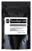 TESTOROID 320 MALE - BOOSTER **MOST POWERFUL LEGAL BODY-BUILDING SUPPLEMENT** 100% SAFE
