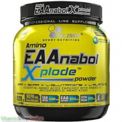 AMINO EAANABOL XPLODE ORANGE 520g POWDER ACIDS BCAA VITAMINS OLIMP FREE P & P