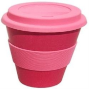 Ecoffee Cup Pink Reusable Coffee Cup 400ml x 1