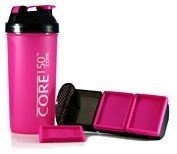 Core 150 Pink Bottle Black Lid 1000ml x 1