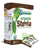 Wholesome Sweeteners Organic Stevia 35-Count Package