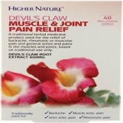 Higher Nature Devil's Claw Mus & Joint Relie 40 tablet