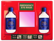 Orange Eye Wash Station