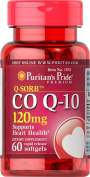 Puritans Pride Q Sorb CO Q-10 120mg 60 Rapid Release Soft Gels