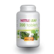 Organic nettle leaf 200 tablets 400 mg