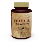 3 Pack Mushroom Chaga Extract 500mg 300 Vegetarian Capsules Vita World German pharmacy production Chagapilz