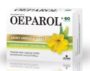Oeparol - 60 capsules - diet supplement contains evening primrose oil whose ingredients include biologically active Omega-6 fatty acids