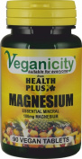 Veganicity Magnesium 100mg : Bone & Joint Health Supplement : 90 tablets