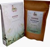 2 x Organic Shatavari Wild Asparagus racemosus 216 Veggie Caps of 500mg each Feminine Harmony USDA Certified
