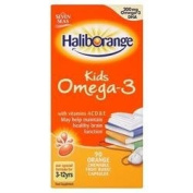 Haliborange Omega 3 Fish Oil Orange 90 Capsules