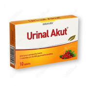 Urinal Akut N10 tabs for urinary tract care during a sudden and strong discomfort
