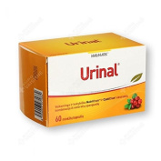 Urinal N60 For infection and inflammation of the urinary tract