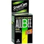 Allbee B-Complex With Vitamin C Caplets - 130 Caplets by INVERNESS MEDICAL INC.