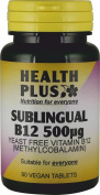 Health Plus B12 500µg (Sublingual)