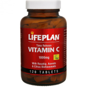 Lifeplan Vitamin C 1000mg Time Release 120 tablets
