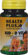 Health Plus Kid-D Vit (400iu Vitamin D)