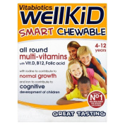 Vitabiotics Wellkid Chewable Vitamins, Iron & Minerals Plus Omega-3