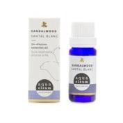 Aqua Oleum Sandalwood Essential Oil 5% 10ml x 1