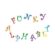 FMM Upper and Lower Case Funky Alphabet & Number Tappit Cutters Set