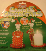 Beady Candle Characters Mrs Santa Claus Beaded Candle Holder Makes 2