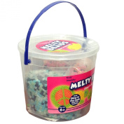 Melty Glow in the Dark Bead Set-6000 Beads with 3 Pegs