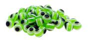 Mandala Crafts® Wholesale Jewellery Making 150 8mm Resin Loose Evil Eye Beads