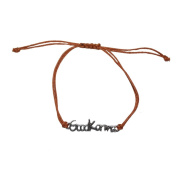 Brown Good Karma Bracelet Strand Spiritual Good Luck String