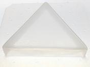 Flexible Resin Mould Triangle Shape 7.6cm X 1.9cm Deep