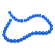 Blue Miscellaneous Stone Jade Bracelet & Necklace Decoration Jade Beads Bracelets, 10mm Beads, 38cm in Length