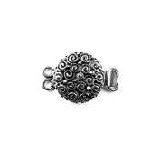 Silver Filled Double Strand Clasp CSF-382-18MM