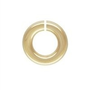 Gold Filled 22.0 Gauge 6.8mm Open Jump Ring. Sold as - 50 Pieces Per Pack
