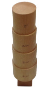 Hardwood Round Bracelet 4 Step Mandrel