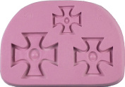 "Fleximold Silicon Mould, ""Regimental Cross"" Mould"
