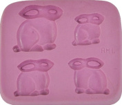 "Fleximold Silicon Mould, ""Rabbit"" Mould"