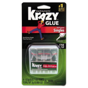 Krazy Glue - Krazy Glue Single-Use Tubes w/Storage Case, 4/Pack KG58248SN (DMi PK