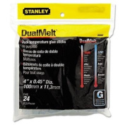 Stanley Bostitch Dual Temperature Glue Sticks, 10cm Stick, 24/Pack, Case of 5 Packs
