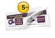 Oregon Lamination Premium Memorial Bookmark Laminating Pouches 7.6cm x 20cm - 1.9cm 5 mil (pack of 25) Hot