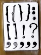 Large Punctuation Brads Set - 18 pieces