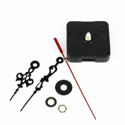 New Replacement Quartz Clock replacement Movement + time Hands for DIY Repair