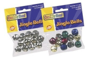 Jingle Bells 15mm Silver 72 Pcs. By Science Purchase