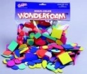 Wonderfoam Wonderfoam Decorative Foam Shape, Pack 264