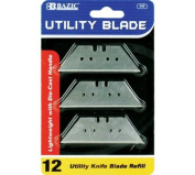 Bazic Products 117-360 BAZIC Utility Knife Replacement Blade - 12-Pack Case of 360