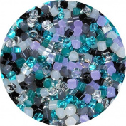 Twinkle Twinkle Designer Glass Dot Mix - 30ml - Fusible Bullseye Glass 90 COE