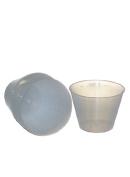Reusable plastic 30ml graduated cups - 20 count