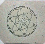Flexible Resin or Chocolate Mould Sacred Geometry Seed of Life
