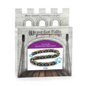 Weave Got Maille 3-Colour Byzantine Chain Maille Bracelet Kit, Frolic