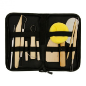 US Art Supply Pottery and Clay and Sculpting Tools 12 Piece Set