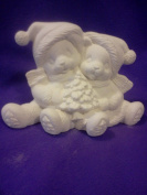 Clay Magic Christmas Cuddle Bears