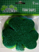 Saint Patrick's Foam Shapes 12 Count